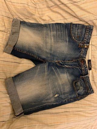 刷色短褲(寶藍)