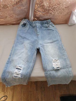 Jeans karet anak2 robek