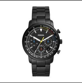 FOSSIL Goodwin Chronograph Black Stainless Steel Watch