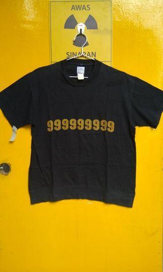Number 9 Black T-Shirt