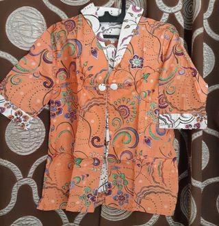 Bolero#Blus Batik#outwear#blus#batik#atasan#free ongkir
