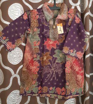 Blus batik#batik#atasan#free ongkir#blus