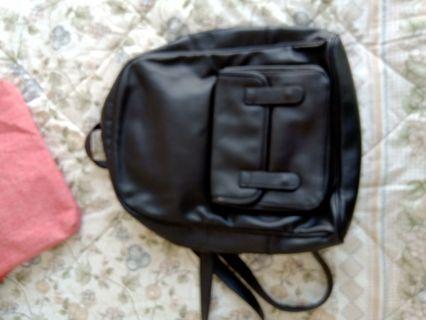 Ransel zara kids boys medium size backpack faux leather mulus