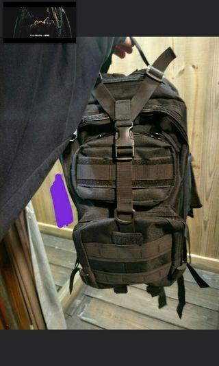 古著工裝機能軍用後背包