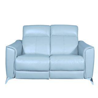 2 Seater Premium Italian Top Grain Leather Recliner Sofa