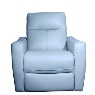 Lena Italian Top Grain Leather Recliner Armchair