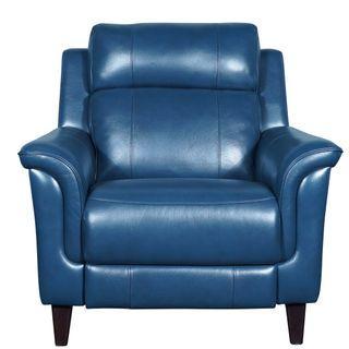 Armchair Italian Top Grain Leather Motorised Recliner Sofa