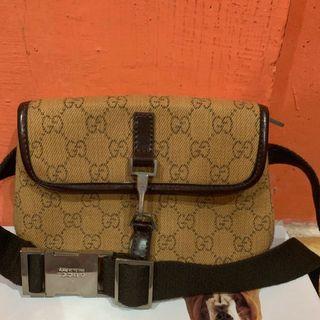 Gucci Sling bag authentic / tas pinggang original branded