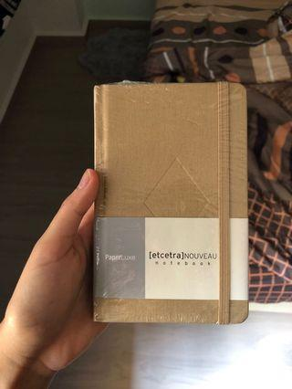 Leather Notebook (Tan)