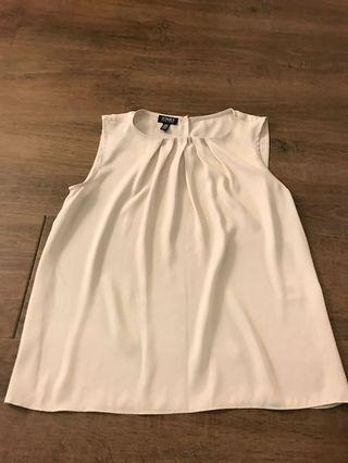 Beige top extra small
