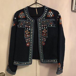 Unique Jewelled Jacket