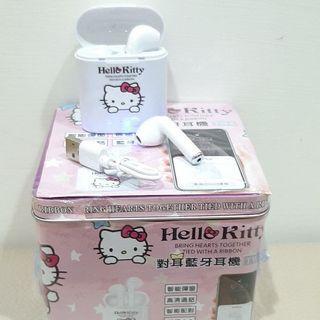 i7s TWS Hello Kitty  Bluetooth earphones