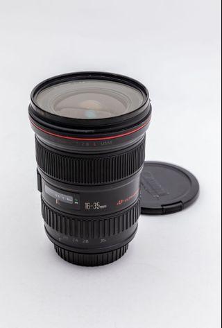 Canon 16-35mm f2.8 L