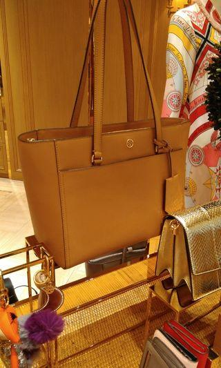 Tory Burch Small York Tote ( Tiger Eye )