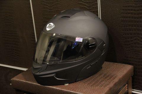 THH T-797A+ 消光黑 全罩 可樂帽