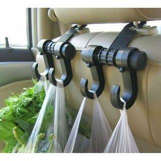 2Pcs New Universal Car  Hanger Organizer Hook Headrest Holder