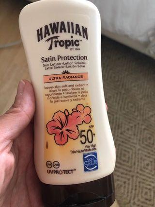 Hawaiian Tropic Sun Lotion SPF 50+