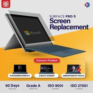 Microsoft Surface Pro 5 - Repairs (Flicker/ Power/ Charging)