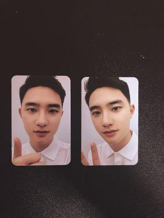 EXO - L FANCLUB : DO KYUNGSOO photocards set