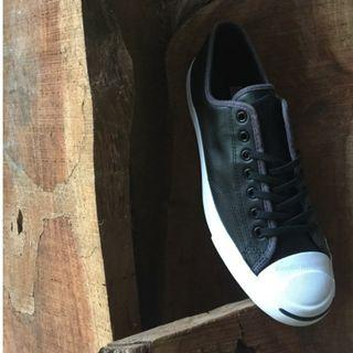 Converse Jack Purcell Leather OX Black Almost