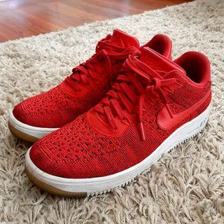 Nike Air Force 1 Ultra Flyknit Low University Red