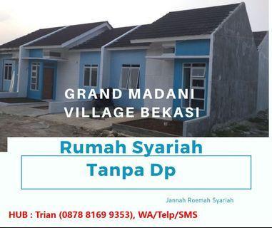 Rumah Syariah Murah di Bekasi Tanpa DP. (GRAND MADANI VILLAGE)