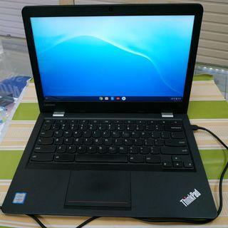 Lenovo ThinkPad 13inch ChromeBook core i5/8gb/32gb mulus