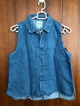 Denim Top ZARA
