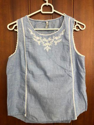 Blue Top Stradivarius