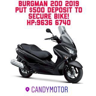 BURGMAN 200 2019