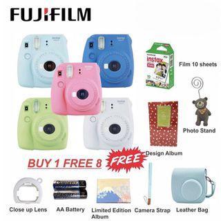 Fujifilm Instax Mini 9 Package Set