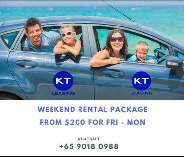Car Rental Weekend Rental