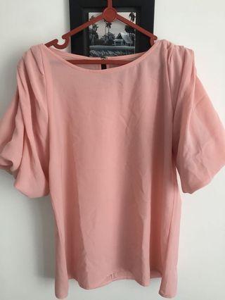 Flamingo Pink Top