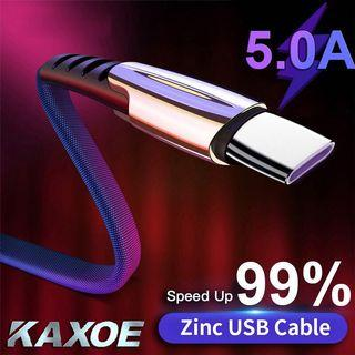 5A Fast Charging Cable Micro Usb/Type-C/Lightning