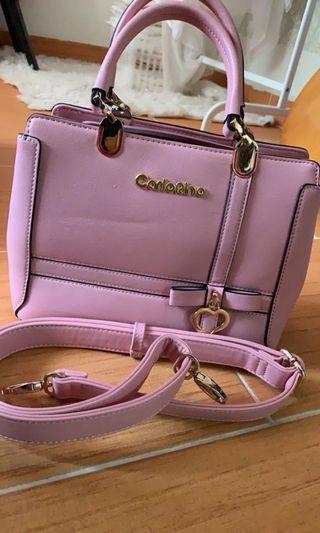 Carlo Rino Pink handbag