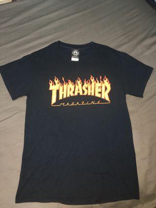 Thrasher T-shirt 黑