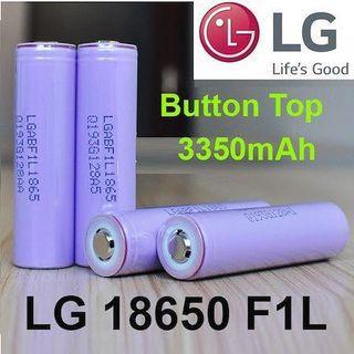 LGF1L Button Top 3350mAh Li-ion 18650 Battery