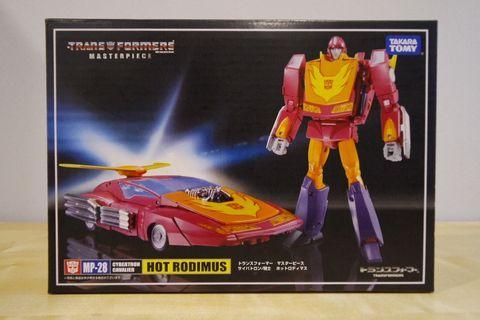 Takara Tomy Transformers Masterpiece MP-28 Hot Rodimus