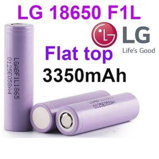 LGF1L Flat Top 3350mAh Li-ion 18650 Battery