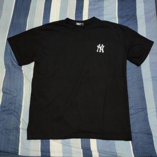 NY MLB 韓版 韓國 短袖 短T 刺繡 logo