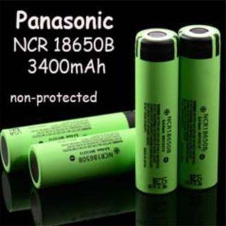 Panasonic NCR18650B Flat Top 3400mAh Li-ion 18650 Battery