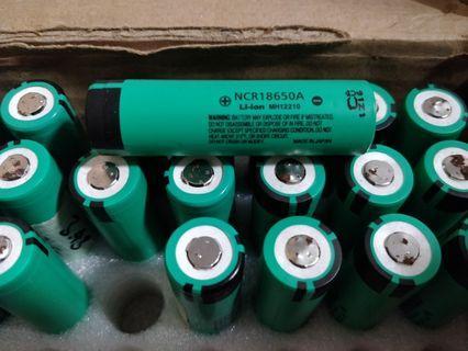 Panasonic 18650 NCR18650A 31pcs