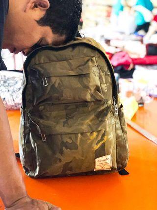 Tas Ransel Army Casual Anti Air Waterproof Murah
