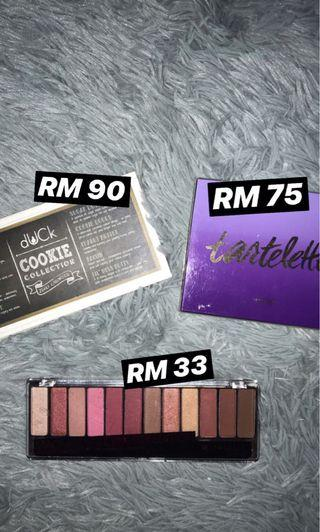 Eyeshadow palettes for sale!