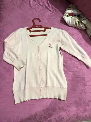 Baju luaran pink