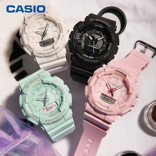Casio G-shock BABY-G GMA-S130 Black Step Tracker Women