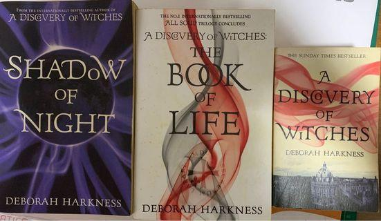 🚚 A Discovery of Witches Series - Deborah Harkness
