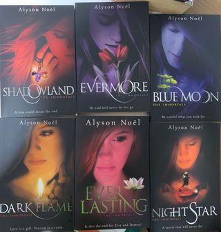 The Immortals Series - Alyson Noel