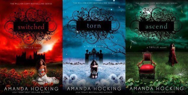 The Trylle Series - Amanda Hockings