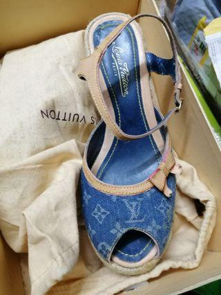 Louis Vuitton denim shoes
